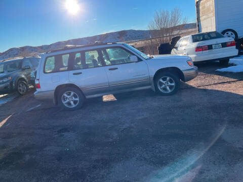 2001 Subaru Forester for sale at PYRAMID MOTORS - Fountain Lot in Fountain CO