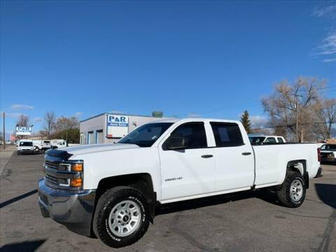 2015 Chevrolet Silverado 2500HD for sale at P & R Auto Sales in Pocatello ID