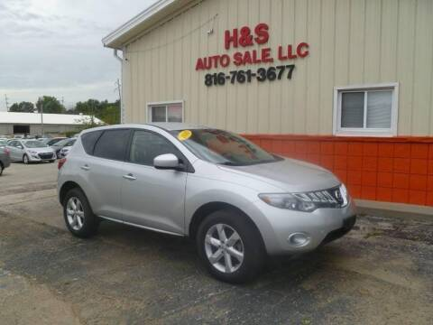 2010 Nissan Murano for sale at H & S Auto Sale LLC in Grandview MO