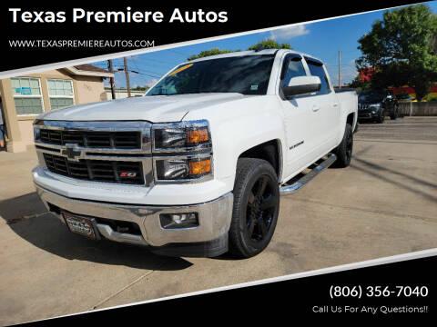 2015 Chevrolet Silverado 1500 for sale at Texas Premiere Autos in Amarillo TX