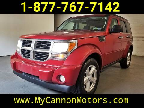2009 Dodge Nitro for sale at Cannon Motors in Silverdale PA