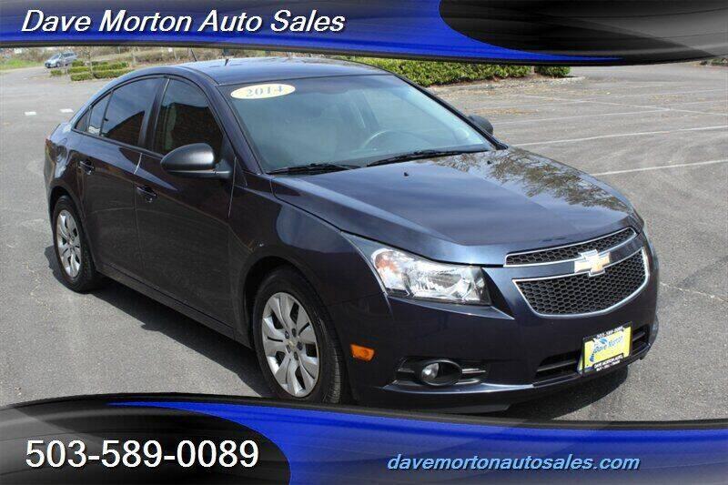 2014 Chevrolet Cruze for sale at Dave Morton Auto Sales in Salem OR