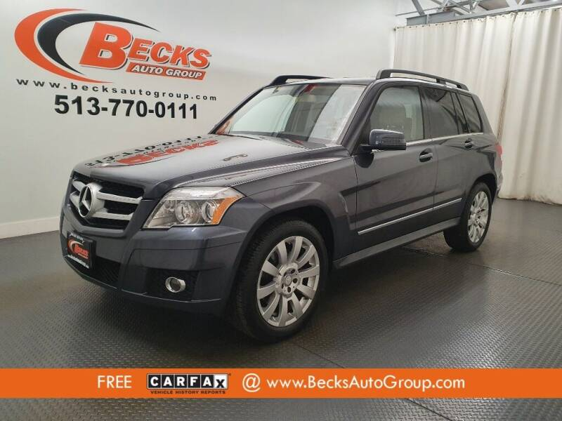 2011 Mercedes-Benz GLK for sale at Becks Auto Group in Mason OH