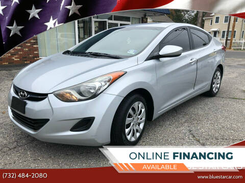 2011 Hyundai Elantra for sale at Blue Star Cars in Jamesburg NJ