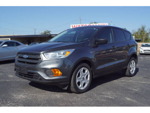 2017 Ford Escape for sale at Watson Auto Group in Fort Worth TX