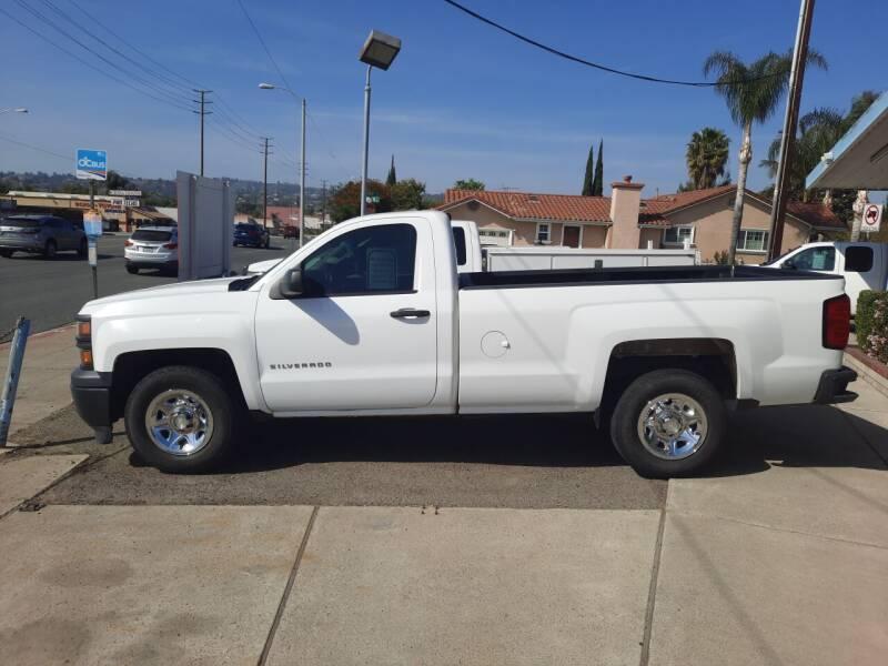2014 Chevrolet Silverado 1500 for sale at S & S Auto Sales in La Habra CA