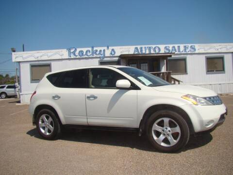 2004 Nissan Murano for sale at Rocky's Auto Sales in Corpus Christi TX