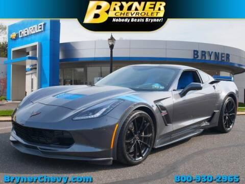 2017 Chevrolet Corvette for sale at BRYNER CHEVROLET in Jenkintown PA