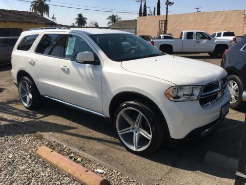 2011 Dodge Durango for sale at JR'S AUTO SALES in Pacoima CA