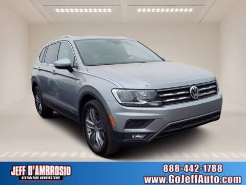 2021 Volkswagen Tiguan for sale at Jeff D'Ambrosio Auto Group in Downingtown PA