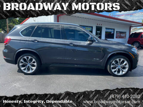 2015 BMW X5 for sale at BROADWAY MOTORS in Van Buren AR