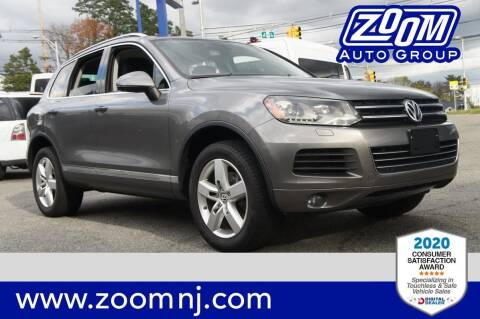 2011 Volkswagen Touareg for sale at Zoom Auto Group in Parsippany NJ