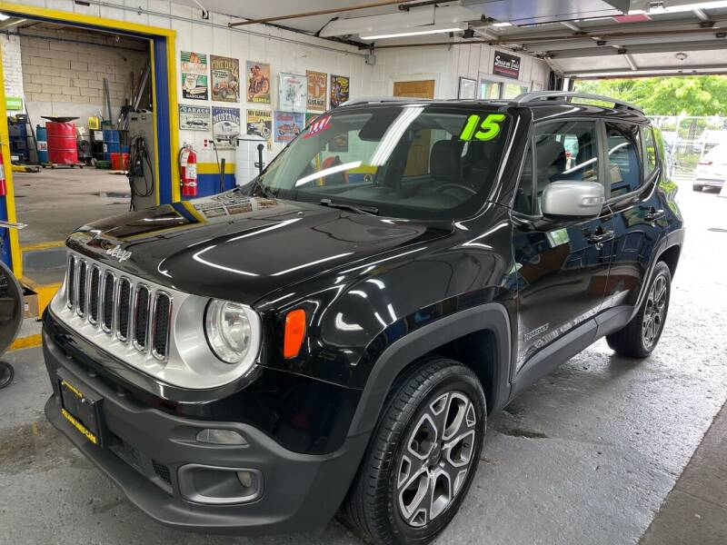 2015 Jeep Renegade for sale at PELHAM USED CARS & AUTOMOTIVE CENTER in Bronx NY