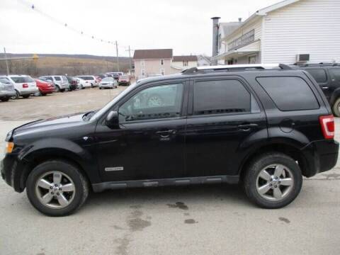 2008 Ford Escape for sale at ROUTE 119 AUTO SALES & SVC in Homer City PA