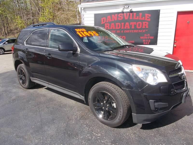 2013 Chevrolet Equinox for sale at Dansville Radiator in Dansville NY