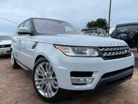 2016 Land Rover Range Rover Sport for sale at Cars of Tampa in Tampa FL