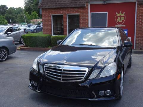 2010 Mercedes-Benz E-Class for sale at AP Automotive in Cary NC
