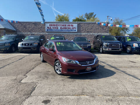 2013 Honda Accord for sale at Brothers Auto Group in Youngstown OH