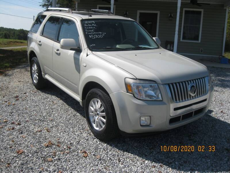 2009 Mercury Mariner for sale at Judy's Cars in Lenoir NC