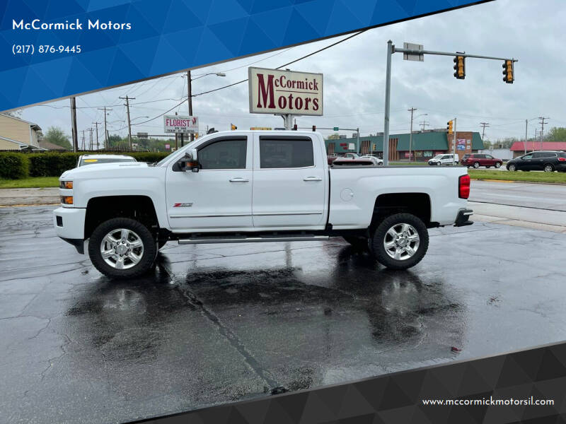 2019 Chevrolet Silverado 2500HD for sale at McCormick Motors in Decatur IL