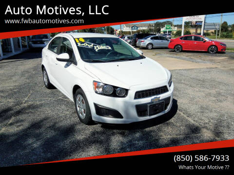 2014 Chevrolet Sonic for sale at Auto Motives, LLC in Fort Walton Beach FL