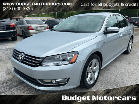 2015 Volkswagen Passat for sale at Budget Motorcars in Tampa FL