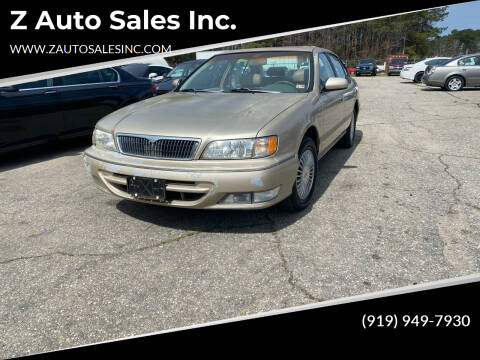 1998 Infiniti I30 for sale at Z Auto Sales Inc. in Rocky Mount NC