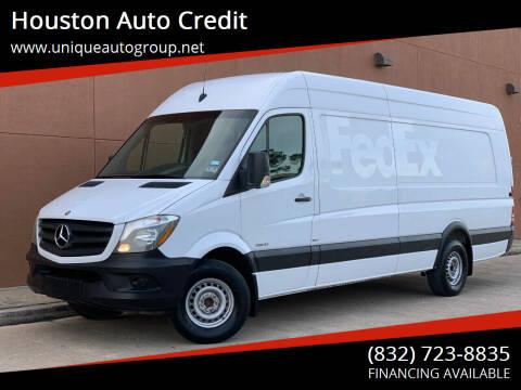 2015 Mercedes-Benz Sprinter Cargo for sale at Houston Auto Credit in Houston TX