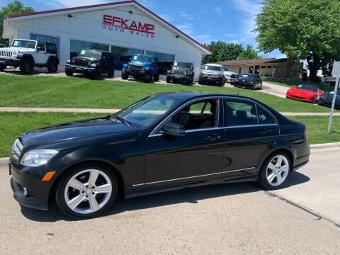 2010 Mercedes-Benz C-Class for sale at Efkamp Auto Sales LLC in Des Moines IA