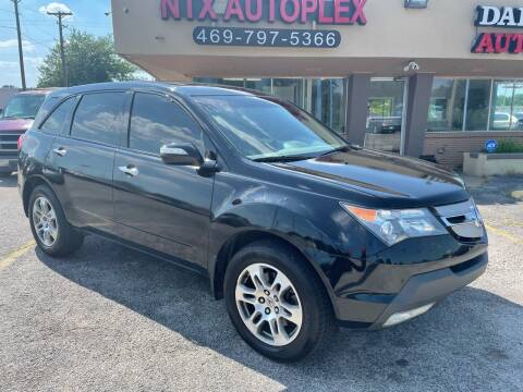 2008 Acura MDX for sale at NTX Autoplex in Garland TX