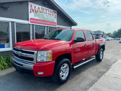 2009 Chevrolet Silverado 1500 for sale at Martins Auto Sales in Shelbyville KY