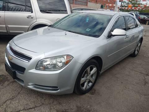 2012 Chevrolet Malibu for sale at JIREH AUTO SALES in Chicago IL