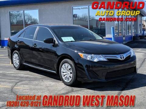 2013 Toyota Camry for sale at GANDRUD CHEVROLET in Green Bay WI