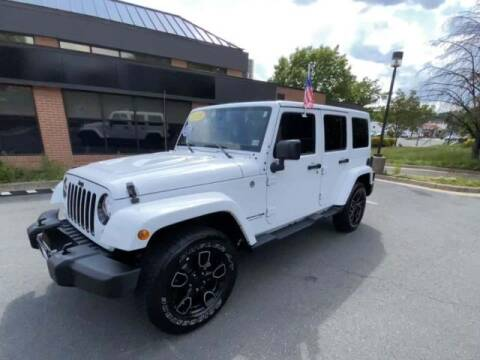 2018 Jeep Wrangler JK Unlimited for sale at Adams Auto Group Inc. in Charlotte NC