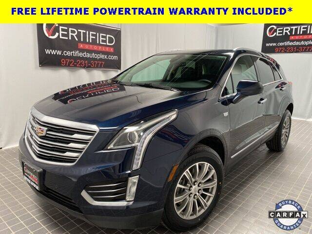 2017 Cadillac XT5 for sale at CERTIFIED AUTOPLEX INC in Dallas TX