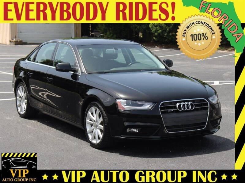 2013 Audi A4 for sale at VIP Auto Group in Clearwater FL