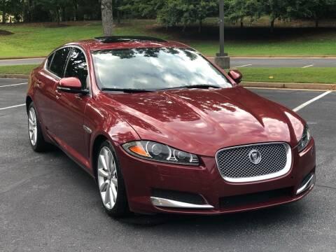 2012 Jaguar XF for sale at Top Notch Luxury Motors in Decatur GA