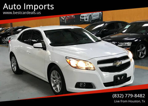 2013 Chevrolet Malibu for sale at Auto Imports in Houston TX