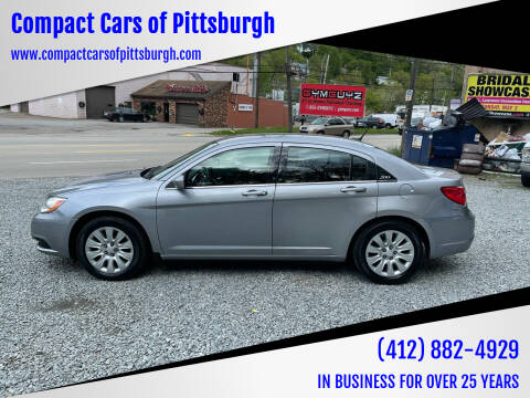 2014 Chrysler 200 for sale at Compact Cars of Pittsburgh in Pittsburgh PA