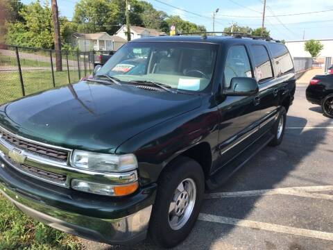 2002 Chevrolet Suburban for sale at Mitchell Motor Company in Madison TN
