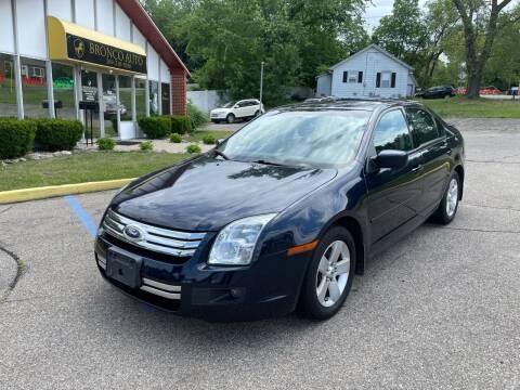 2009 Ford Fusion for sale at Bronco Auto in Kalamazoo MI