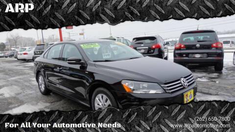 2014 Volkswagen Passat for sale at ARP in Waukesha WI