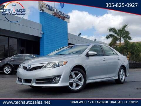 2014 Toyota Camry for sale at Tech Auto Sales in Hialeah FL