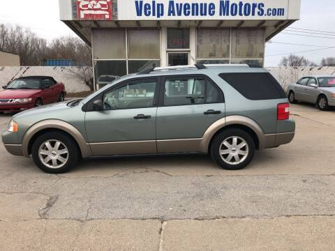 2005 Ford Freestyle for sale at Velp Avenue Motors LLC in Green Bay WI