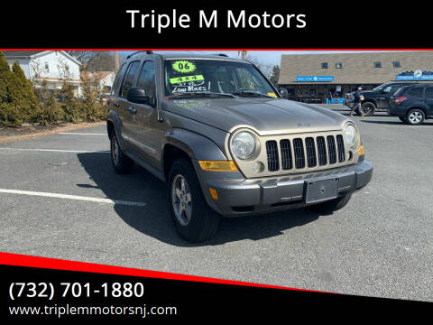 2006 Jeep Liberty for sale at Triple M Motors in Point Pleasant NJ