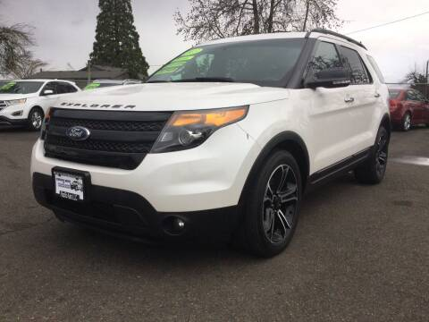 2013 Ford Explorer for sale at Pacific Auto LLC in Woodburn OR