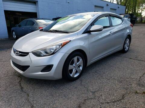 2011 Hyundai Elantra for sale at Devaney Auto Sales & Service in East Providence RI