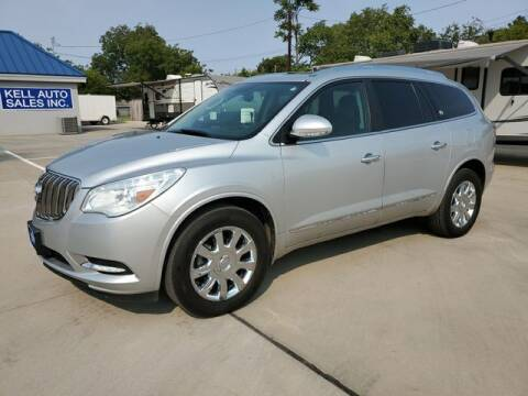 2016 Buick Enclave for sale at Kell Auto Sales, Inc - Grace Street in Wichita Falls TX