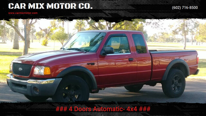 2003 Ford Ranger for sale at CAR MIX MOTOR CO. in Phoenix AZ