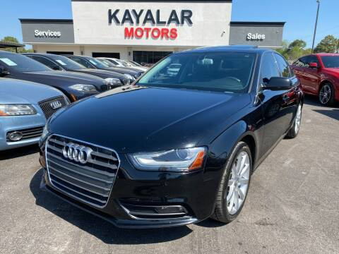 2013 Audi A4 for sale at KAYALAR MOTORS in Houston TX